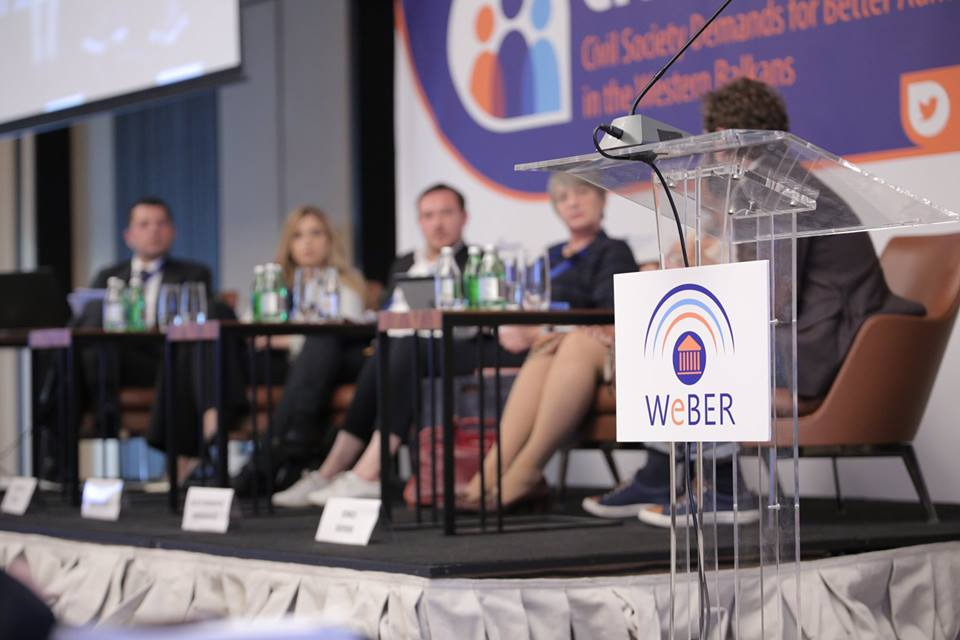 Citizens First: CEP Belgrade hosts the 1st WeBER Regional Conference