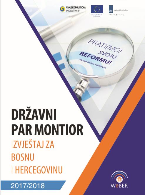 Државни ПАР Монитор – Извјештај за БиХ 2017/2018