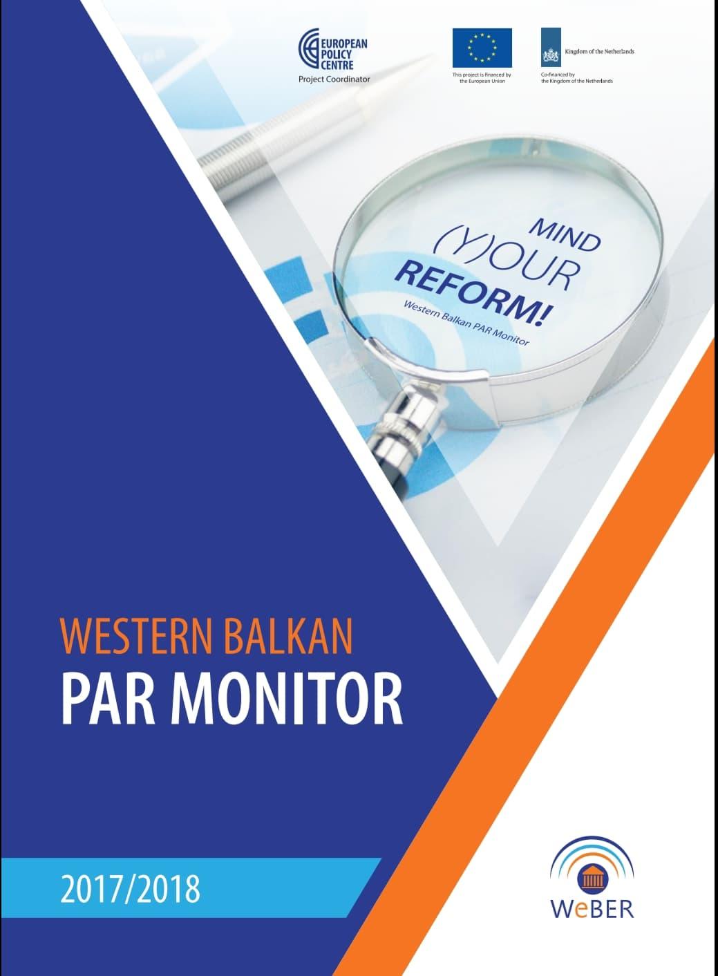 Western Balkan PAR Monitor 2017/2018