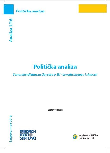 Status kandidata za članstvo u EU- Između izazova i slabosti