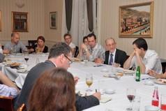 "Razgovor uz večeru sa Danelom Serwerom: Bosna i Hercegovina: ""Kakva vrsta države"""