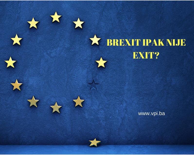 Kontradikcije Brexita: Brexit ipak nije exit?
