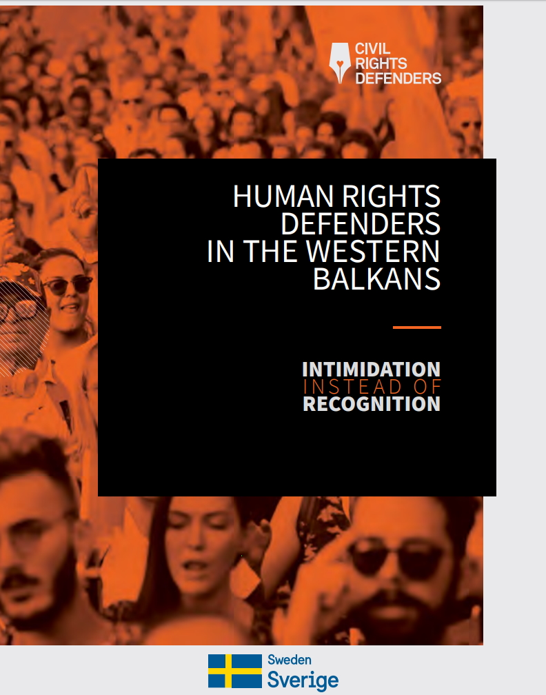Human Rights Defenders in the Western Balkans