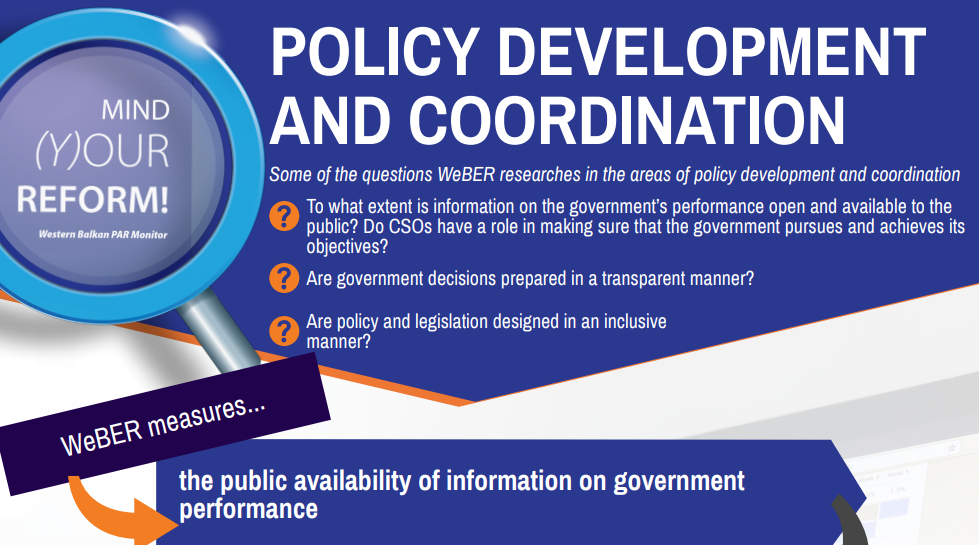 Policy Development and Coordination